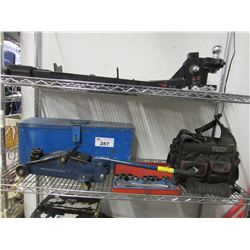 TOOL BAG & TOOL CHEST, SOCKET WRENCH, TROLLEY JACK
