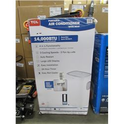TCL 14,000 BTU PORTABLE AIR CONDITIONER WITH HEAT