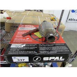 SPAL HIGH PERFORMANCE AUTOMOTIVE ELECTRIC COOLING FAN & AUTOMOTIVE MUFFLER