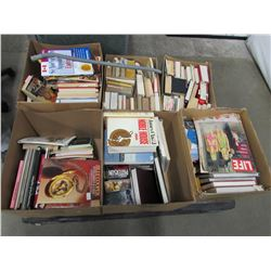 PALLET LOT OF ASSORTED BOOKS (ESTATE GOODS)