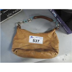 ETIENNE AIGNER LEATHER HAND BAG (AUTHENTICITY UNKNOWN / SEIZED STORAGE)