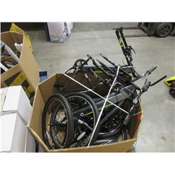 PALLET OF HYPER 36V ELECTRIC ASSIST BIKES, TIRES, ETC