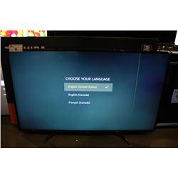 "55"" TOSHIBA 4K UHD HDR LED FIRE SMART TV (MODEL 55LF621C19) *LINE / BURN IN SCREEN*"