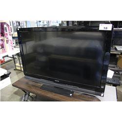 "46"" SONY LCD TV (MODEL KDL-46S4100) *NO POWER CORD*"