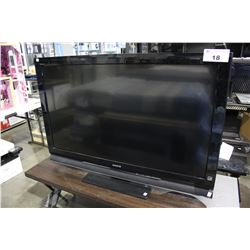 "46"" SONY LCD TV (MODEL KDL-46S4100) *NO POWER CORD*"
