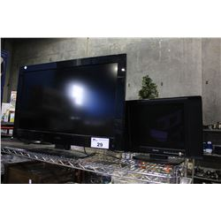 """32"""" HAIER TFT-LCD TV (MODEL L32F1120) AND 15"""" DAYTEK LCD TV"""