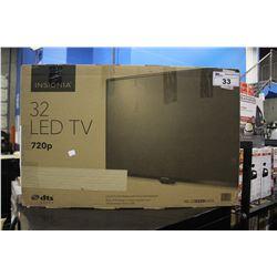 "32"" INSIGNIA LCD-LED TV (MODEL NS-32D220NA18)"