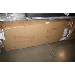 """58"""" ESSENTIAL CHARCOAL WOOD TV CONSOLE"""