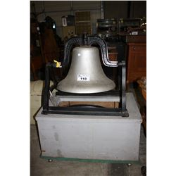 ANTIQUE THE C.S. BELL CO. #22 HILLSBORO OHIO BELL ON STAND