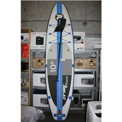 """ZRAY PREMIUM INFLATABLE PADDLE BOARD, 10' 6"""" X 32"""" X 6"""""""