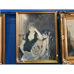 FRAMED PRINT, YOUNG BRIDE