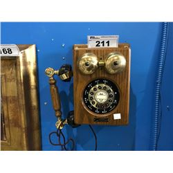 THE COUNTY LINE TELEPHONE CO. WALL HANGING TELEPHONE