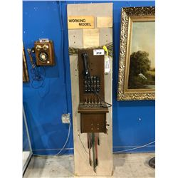 NORTHERN ELECTRIC SWITCHBOARD (OPERATOR'S TELEPHONE)