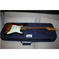 JAY TURSER VINTAGE SERIES STRAT IN HARD FABRIC CASE