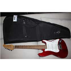 JAY TURSER STRAT (RED) WITH PLUSH GIG BAG