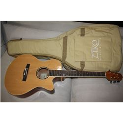 AIERSI OR SIZE ACOUSTIC (MODEL SGO1SMC-38) WITH GIG BAG