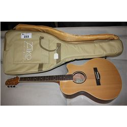 AIERSI OR SIZE ACOUSTIC (MODEL SG01SMC-38) WITH GIG BAG