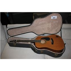 SAMICK ACOUSTIC (MODEL LW-017A) IN HARD SHELL CASE