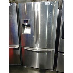 STAINLESS STEEL 36  SAMSUNG FRENCH DOOR FRIDGE WITH BOTTOM FREEZER AND WATER & ICE