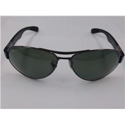 PAIR OF AUTHENTIC POLARIZED RAY-BAN SUNGLASSES (MODEL RB 3509)