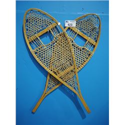 PAIR OF FABER WICKER SNOWSHOES