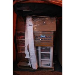 PALLET OF ASSORTED HOME ITEMS AND MORE
