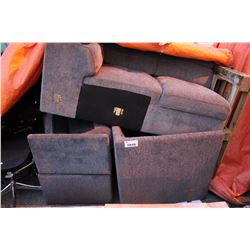 PAIR OF INCOMPLETE SOFAS