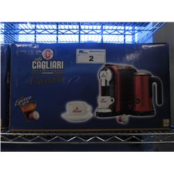 NEW CAFFE CAGLIARI CARINA ESPRESSO SET