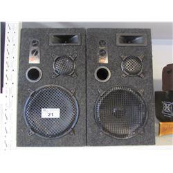 2 AUDIO DIGITAL 5000E SPEAKERS