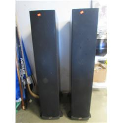 2 KLIPSCH SPEAKERS MODEL RF-63 BLACK