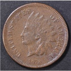 1872 INDIAN CENT VF/XF SOME POROSITY