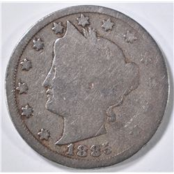 1885 LIBERTY NICKEL GOOD, KEY DATE