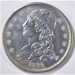 1835 BUST QUARTER AU/BU