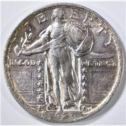 1923 STANDING LIBERTY QUARTER AU/BU