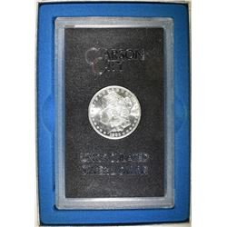 1883-CC MORGAN DOLLAR CH BU GSA BOX AND CERT
