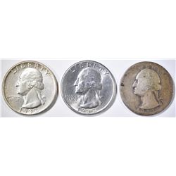 1932 BU & 32-S GOOD WASHINGTON QUARTERS