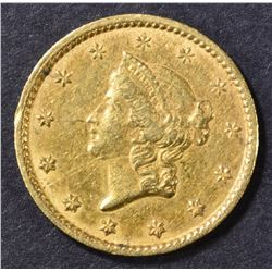 1851-C GOLD DOLLAR  XF