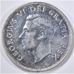 1950 SILVER DOLLAR CANADA  PL