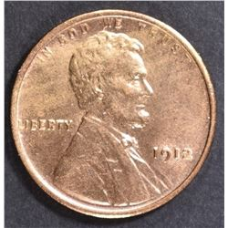 1912 LINCOLN CENT  GEM BU  FULL RED