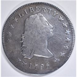 1795 FLOWING HAIR DOLLAR   F-VF