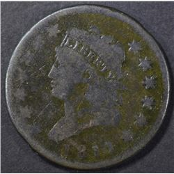 1811 LARGE CENT VG