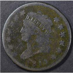 1811 LARGE CENT VG