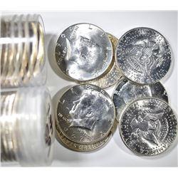 16-1965 & B 19 1967 BU KENNEDY HALF DOLLARS