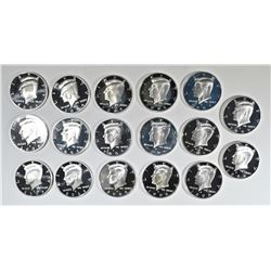 (17) 2006-S GEM SILVER KENNEDY PROOFS