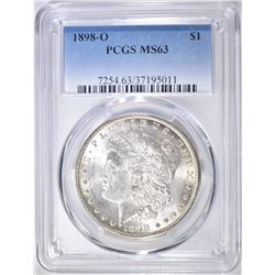 1898-O MORGAN DOLLAR  PCGS MS-63