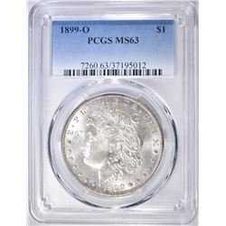 1899-O MORGAN DOLLAR  PCGS MS-63