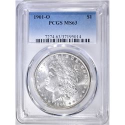 1901-O MORGAN DOLLAR  PCGS MS-63