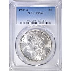 1900-O MORGAN DOLLAR  PCGS MS-64
