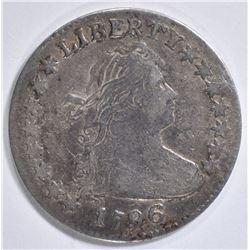 1796 BUST DIME VF
