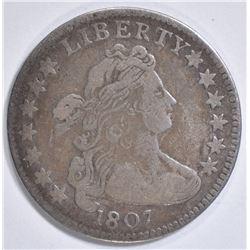 1807 BUST DIME VF